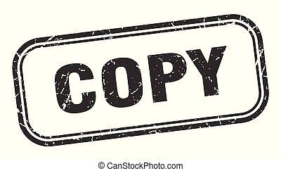 copy stamp. copy square grunge sign. copy