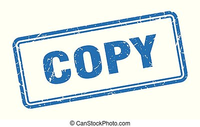 copy stamp. copy square grunge sign. copy