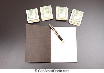 copybook, ドル
