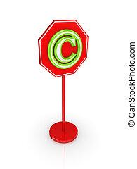Copyright concept.