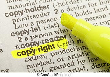 Copyright Highlight