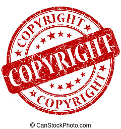 COPYRIGHT red stamp