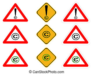 copyright signs