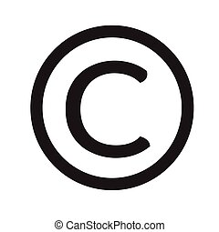 copyright symbol clipart vector graphics 2 049 copyright symbol eps rh canstockphoto com Copyright Violation copyright laws on clipart images