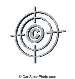 copyright target