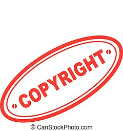copyright word stamp3