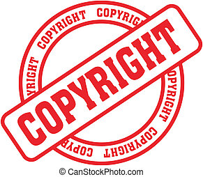 copyright word stamp4