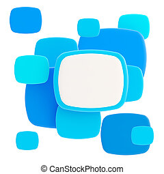 copyspace, 광택 인화, 판, 백색 위에서