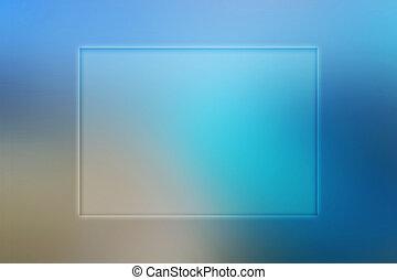 Copyspace Blue Background
