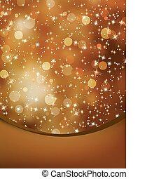 copyspace., eps, elegant, achtergrond, 8, kerstmis