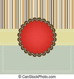 copyspace., eps, sagoma, 8, scheda natale