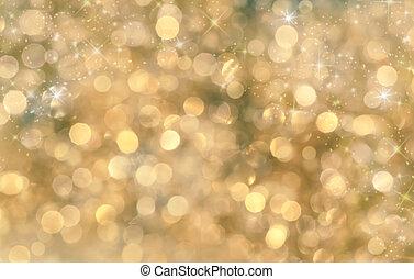 copyspace, festivo, festa, fondo., bokeh, fondo, anno,...