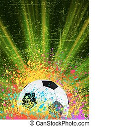 copyspace., football, eps, fond, 8