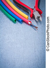 Copyspace of wire protection copper cables sharp nippers constru
