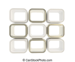 Copyspace window showcase abstract composition background...