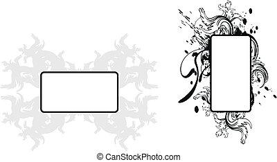 copyspace6, heraldic, braços, agasalho