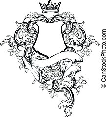 copyspace7, 外套, heraldic, 武器