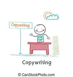 copywriter in the workplace