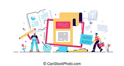 Copywriting Concept for web page, banner, presentation, ...