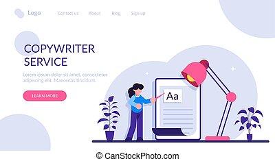 Copywriting job, home based copywriter, freelance ...