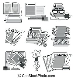 Copywriting or articles writing, editing and modifying files...