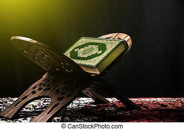 Corán, libro,  -, santo, musulmanes