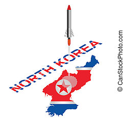 corée nord, lancement, missile