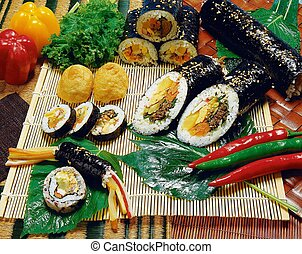 coréen, nourriture