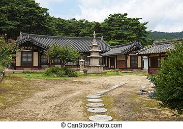 coréia, templos, sul