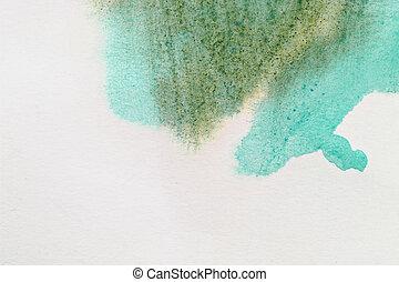 cor água, papel, fundo