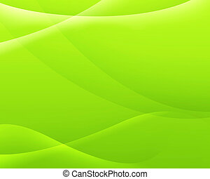 cor, abstratos, experiência verde