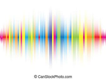 cor, abstratos, linha, fundo