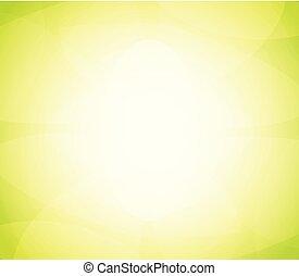 cor, abstratos, luminoso, vetorial, experiência verde, brilho