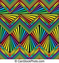 cor, arco íris, seamless