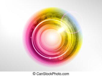 cor, círculo