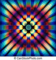 cor, círculos