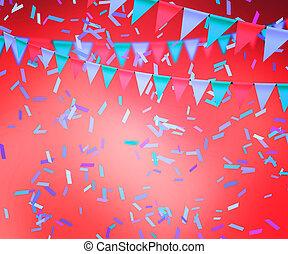 cor-de-rosa, celebração, fundo