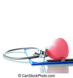 cor-de-rosa, coração