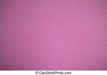 cor-de-rosa, couro, pálido, textura