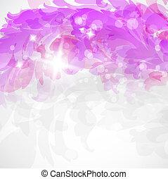 cor-de-rosa, floral