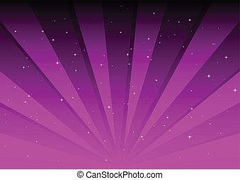 cor-de-rosa, luzes, espalhar, vetorial