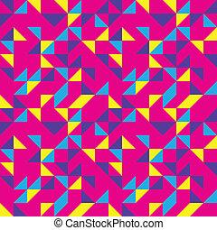 cor-de-rosa, padrão, luminoso, estouro