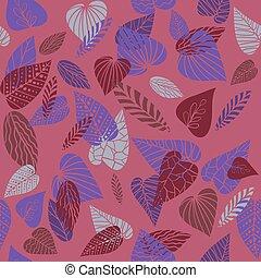 cor-de-rosa, padrão, natureza