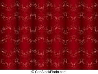 cor-de-rosa, padrão, t, iridescente, suave