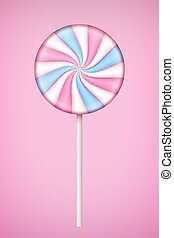 cor-de-rosa, pastel, lolipop, doce, experiência.