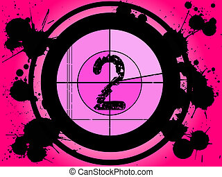 cor-de-rosa, película, contagem regressiva, -, em, 2