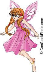 cor-de-rosa, pixie
