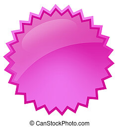 cor-de-rosa, respingo, estrela
