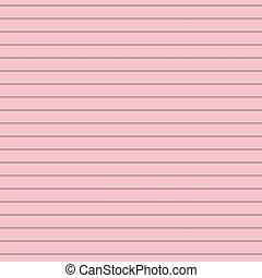 cor-de-rosa, seamless, listra horizontal, padrão, fundo