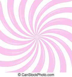 cor-de-rosa, sunburst
